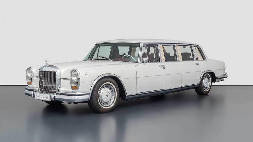 Fully Restored Classic Mercedes Pullman Is A $2.75-Million Rare Limo