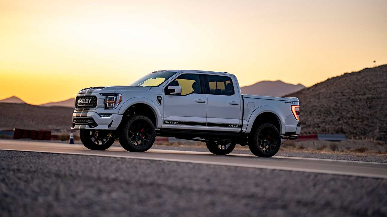 Vista laterale Shelby F-150 2021