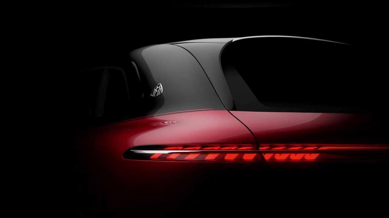 Mercedes-Maybach EQS SUV Teaser