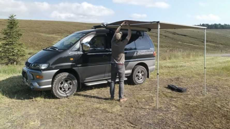 Homebuilt Mitsubishi Delica 4x4 Camper Is Clean, Compact, And Awesome