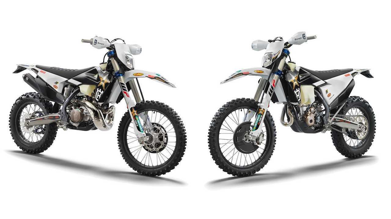 2022 Husqvarna TE300i and FE350 Rockstar Editions - Main