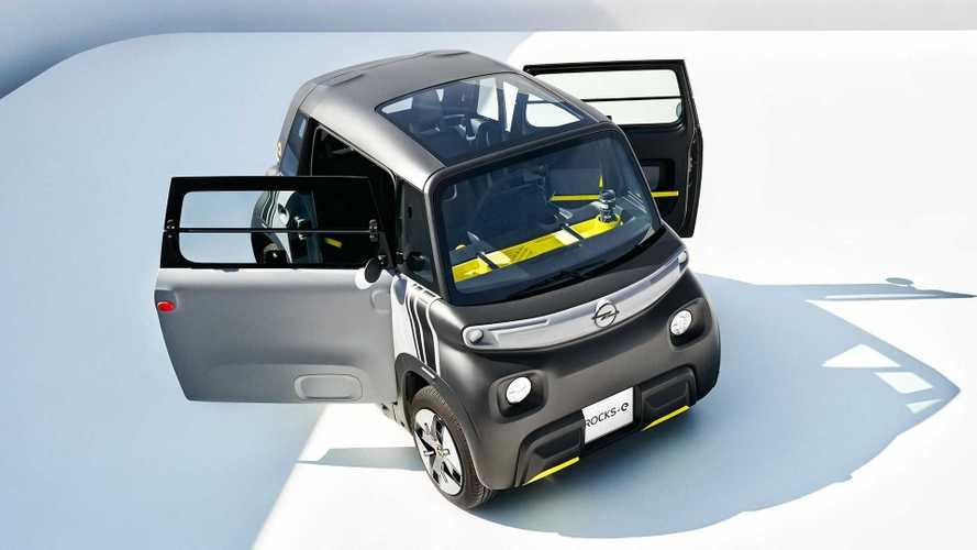 Opel Rocks-e tiny EV revealed as rebadged Citroen Ami