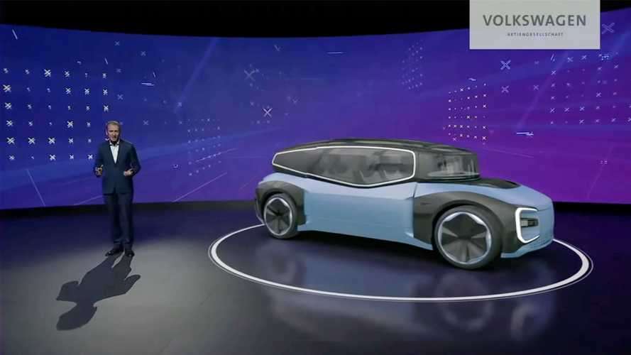 Guida autonoma e robot taxi nei piani Volkswagen per il 2030
