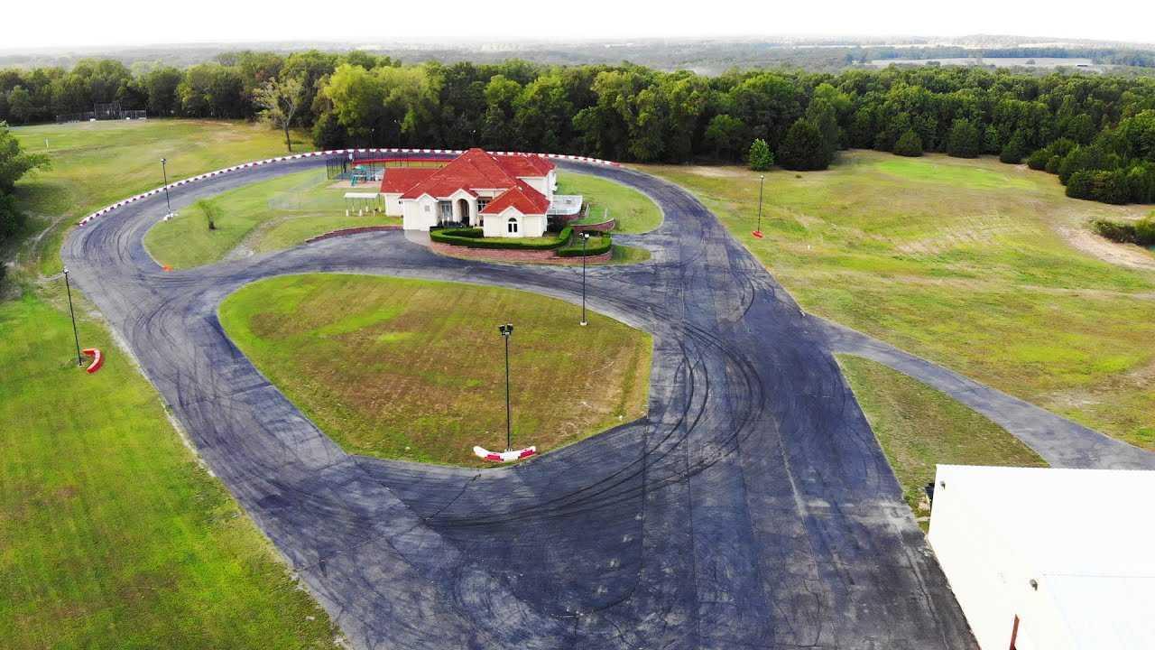 La villa con circuito privato nel Missouri