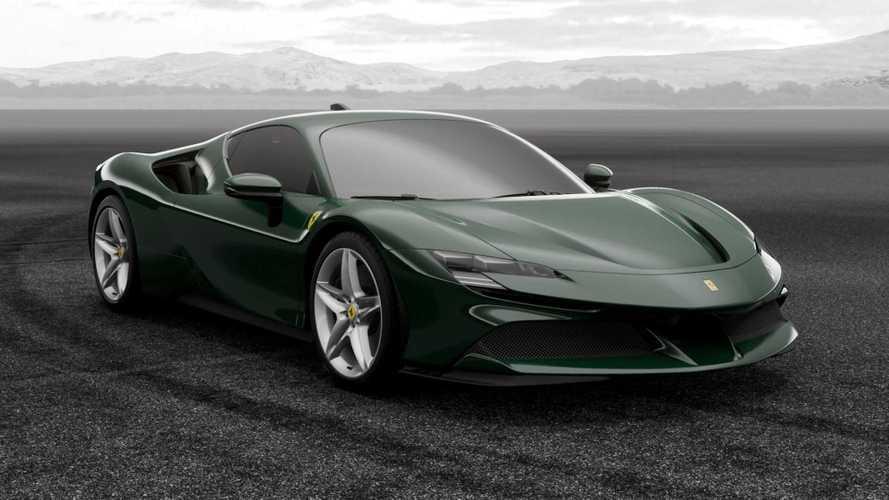 Bu Ferrari SF90 Stradale İtalya civarında görüntülendi