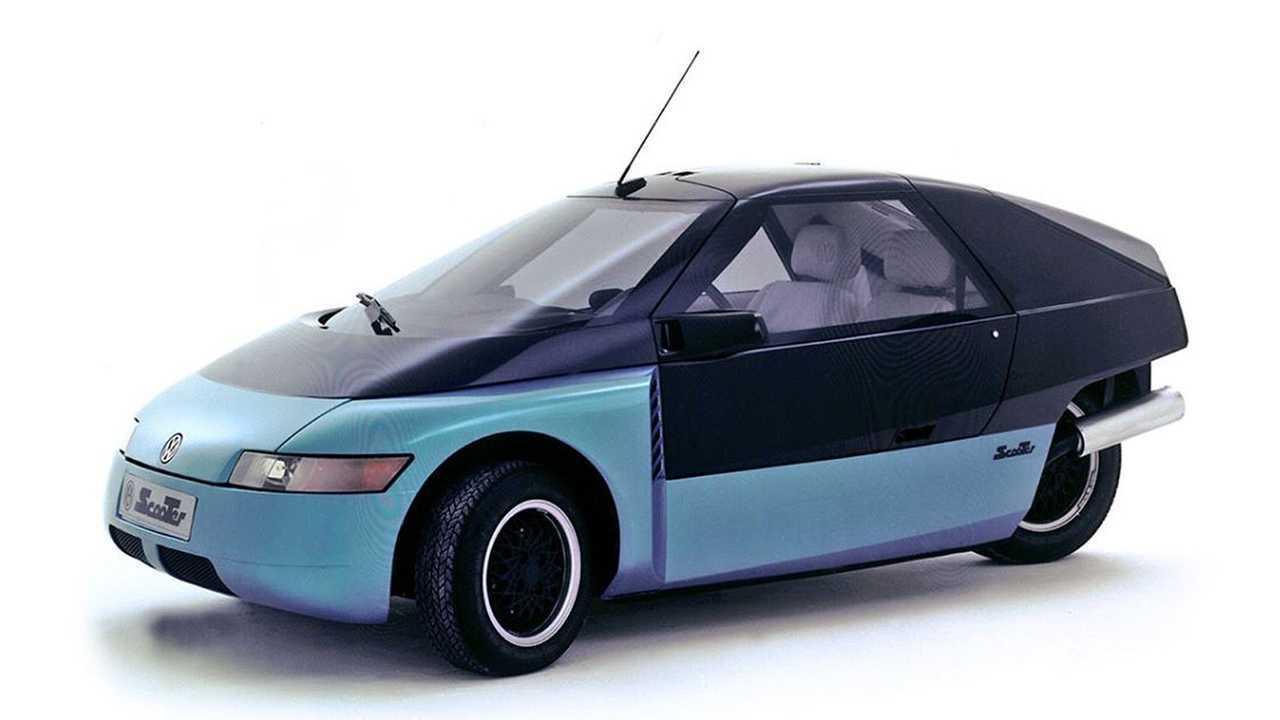 Der dreirädrige VW Scooter von 1986