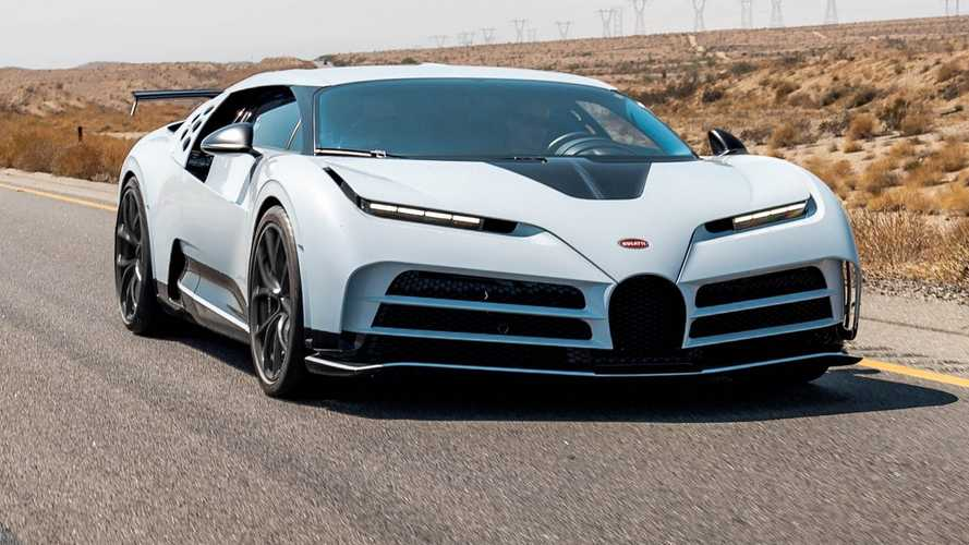 Bugatti испытала гиперкар Centodieci на 45-градусной жаре