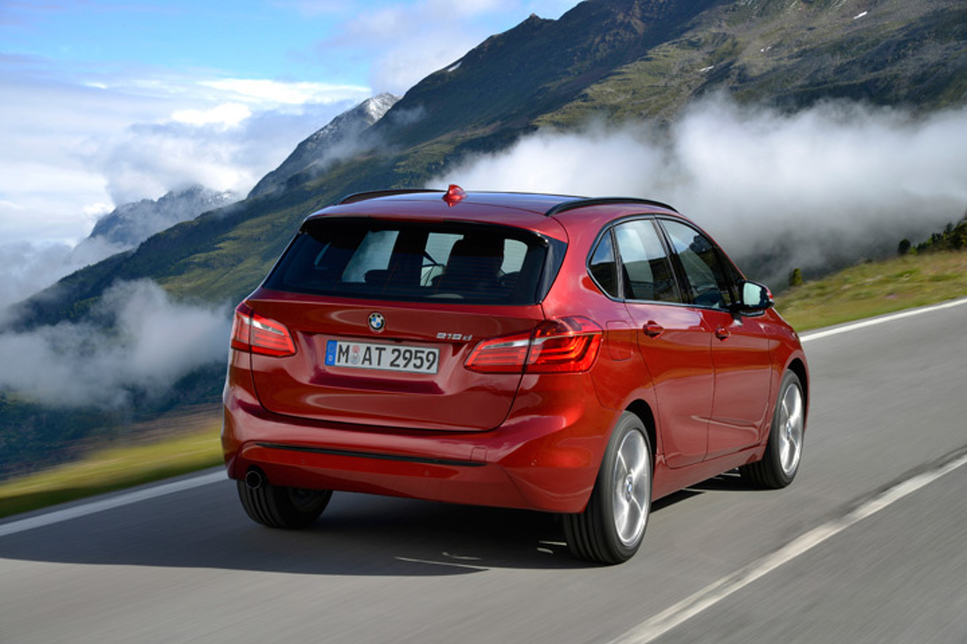 Hot and Practical: BMW 2-Series Active Tourer