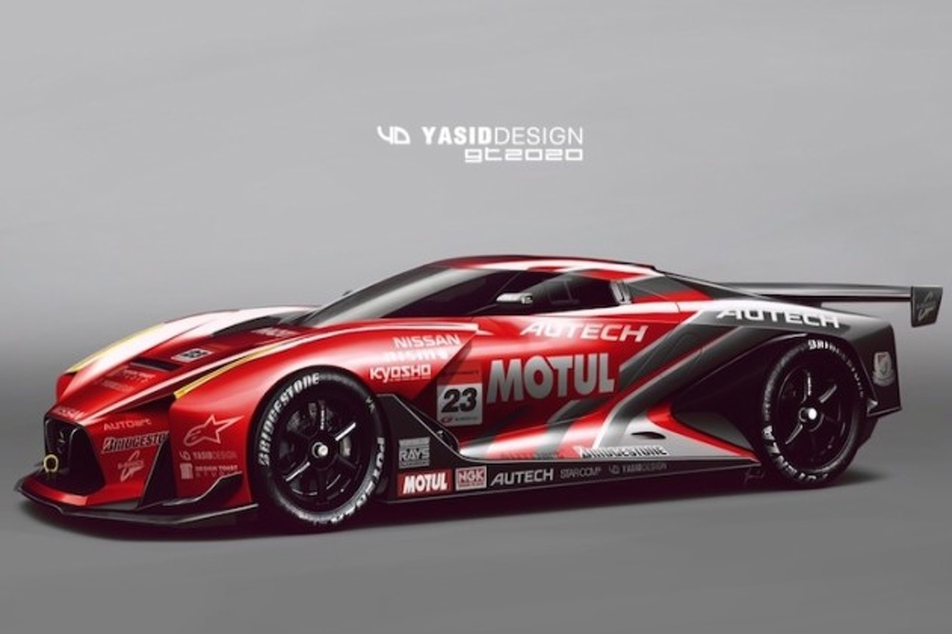 nissan 2020 gt concept covered in awesome racing livery motor1 com photos nissan 2020 gt concept covered in