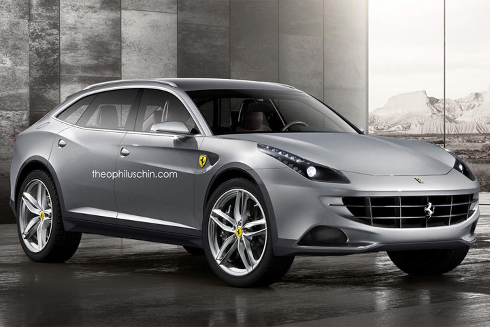 Ferrari SUV Production Confirmed, Still Several Years Away