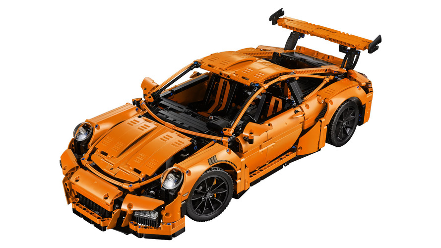 Lego Technic Launches Porsche 911 GT3 RS
