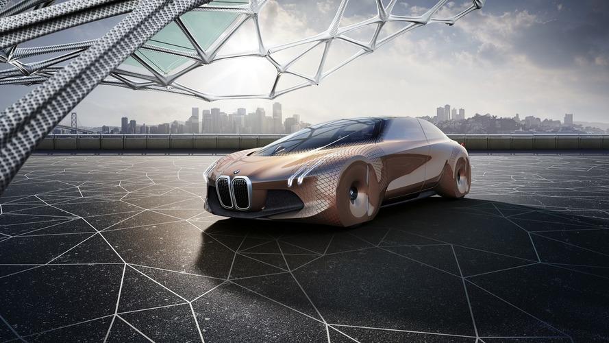BMW Vision Next 100 konseptinin videosu detayları gösteriyor