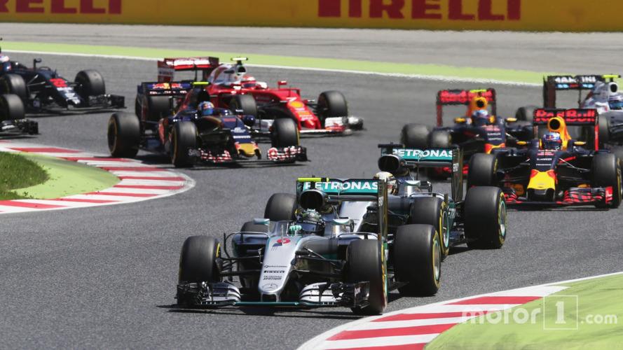 La domination des Mercedes –