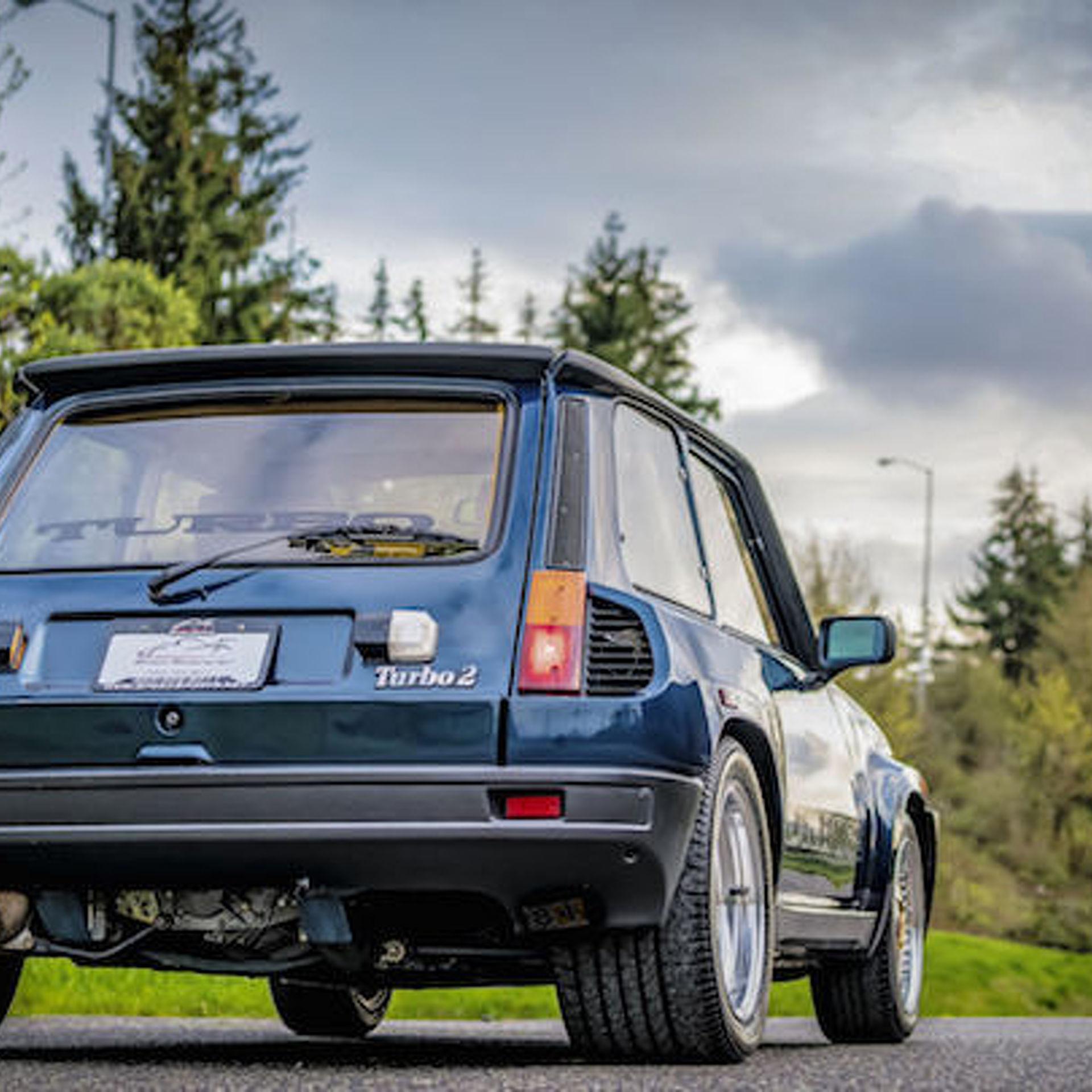 Renault R5 Turbo: Handsome Renault R5 Turbo II Seeks Its Second Owner