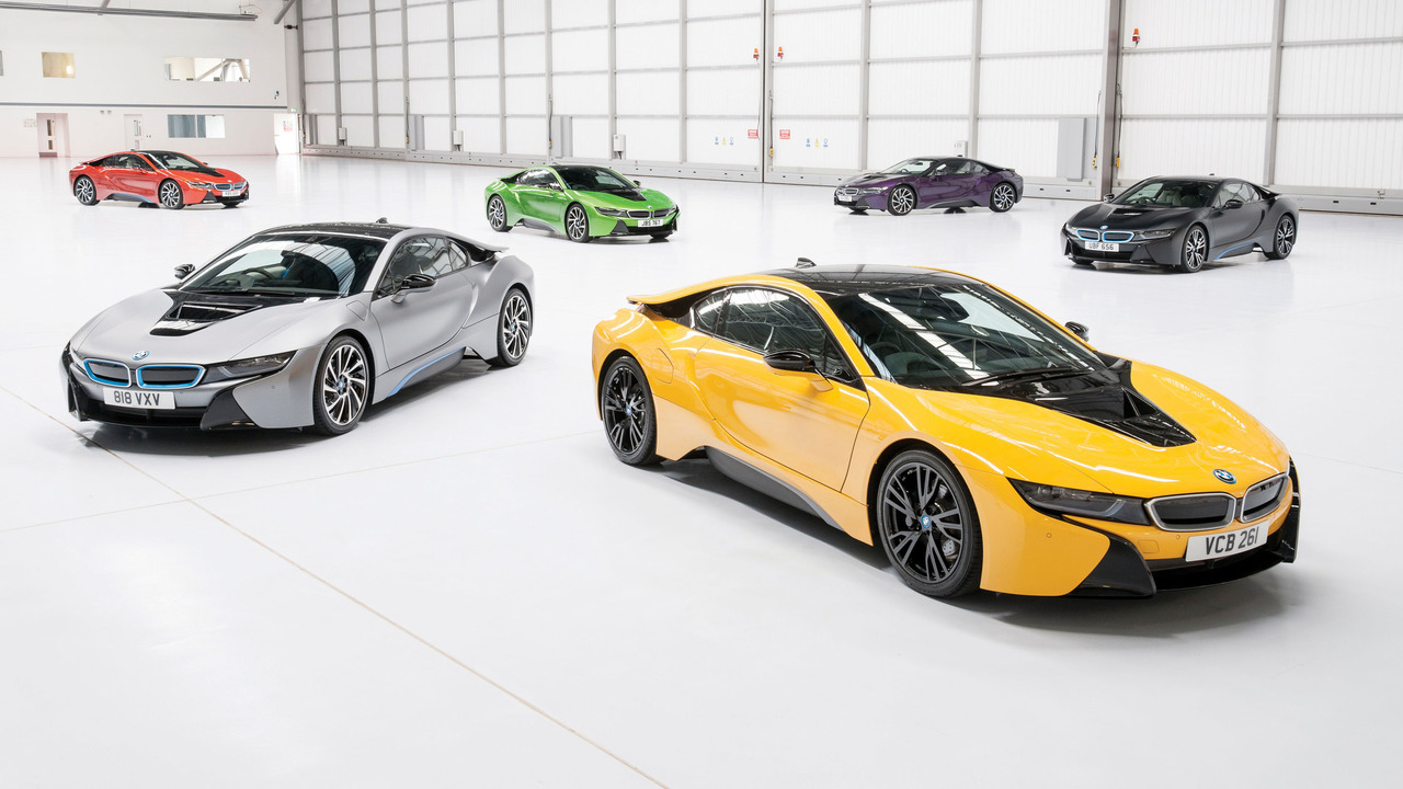 Bmw I8 Individual Colors Motor1 Com Photos