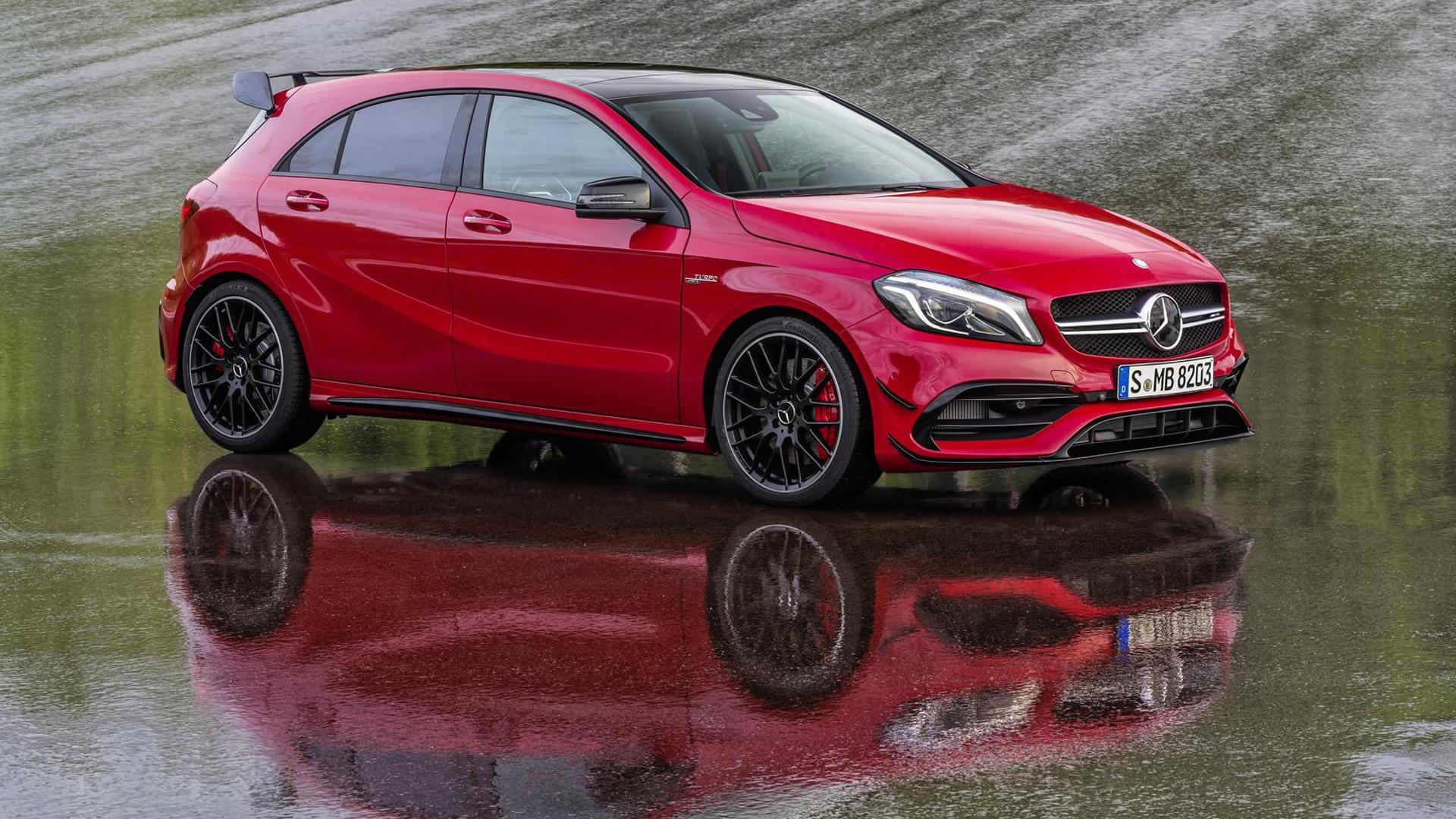 Mercedes Benz Cla 45 Amg And Gla 45 Amg To Get A45 Amg S Power Boost