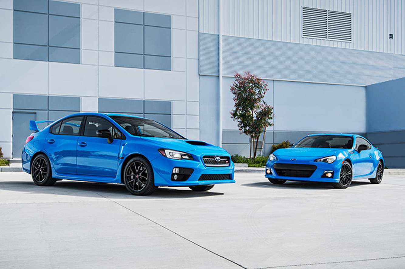 Subaru WRX and BRZ Get Limited Edition HyperBlue Treatment