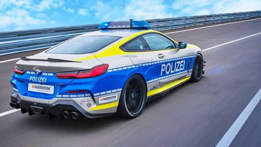 TUNE IT! SAFE! Polizei BMW M850i by AC Schnitzer