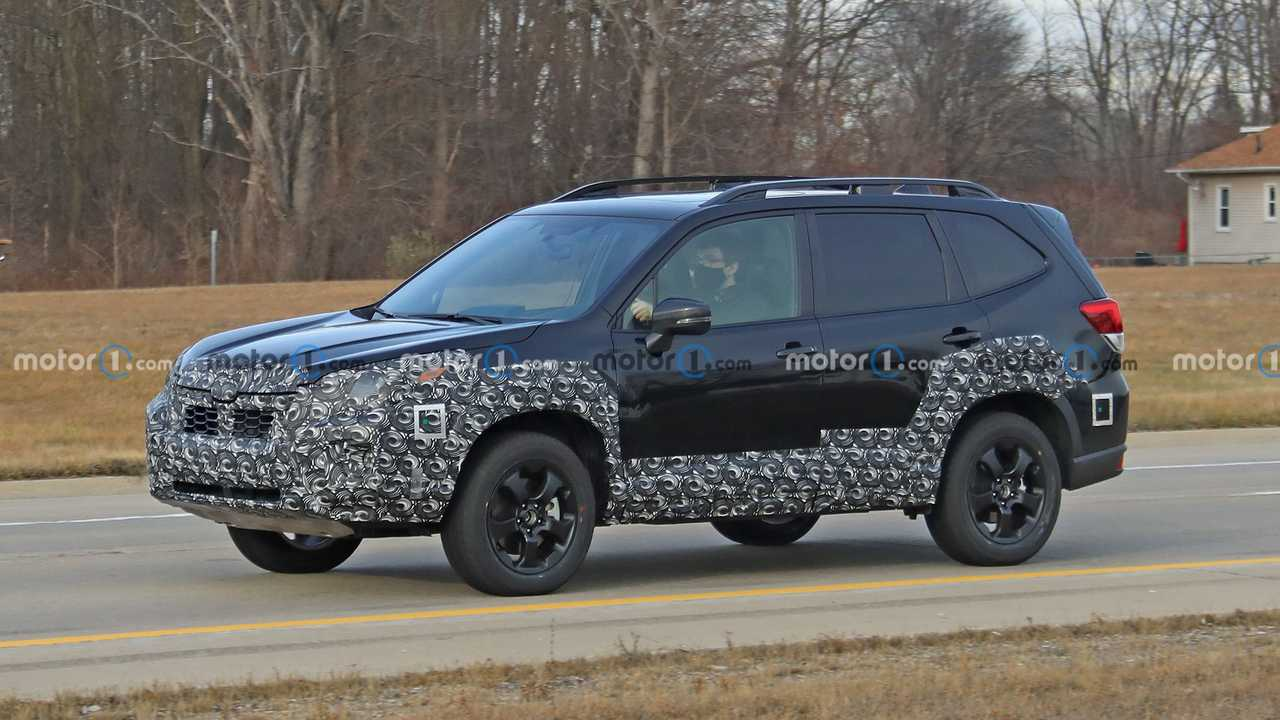 2021 Subaru Forester Casus Fotoğraflar