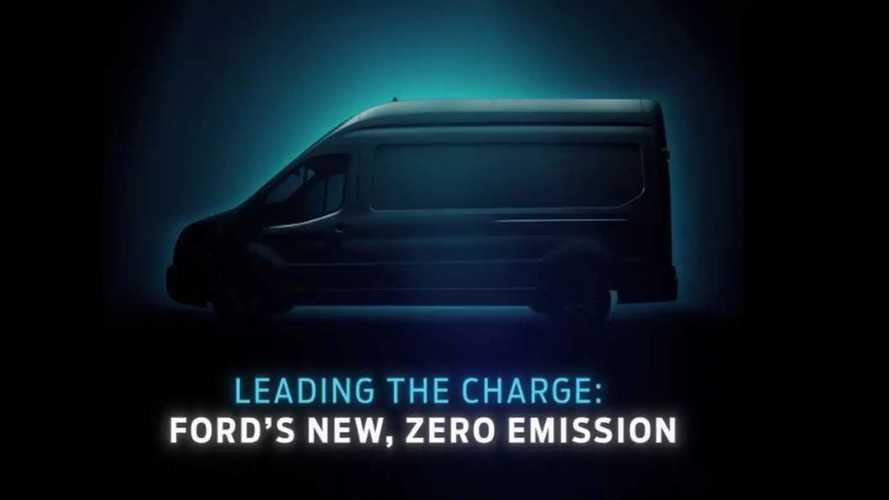 Ford назвал дату премьеры электрического Transit (и показал видео)