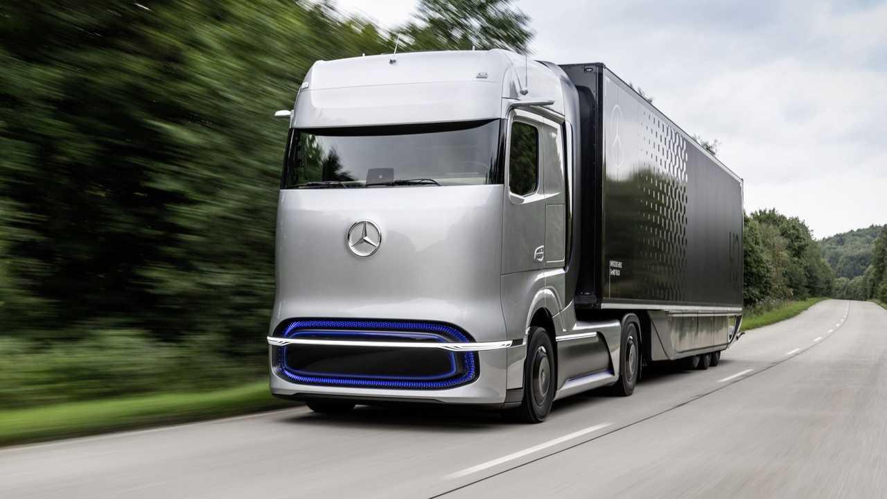 Mercedes e Volvo: una joint-venture per il camion a idrogeno