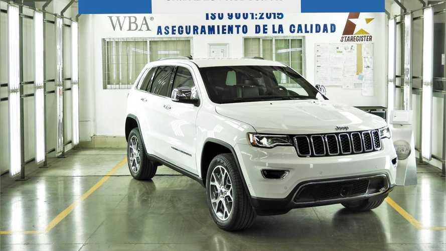 Armored Jeep Grand Cherokee Production Milestone Front Three Quarters