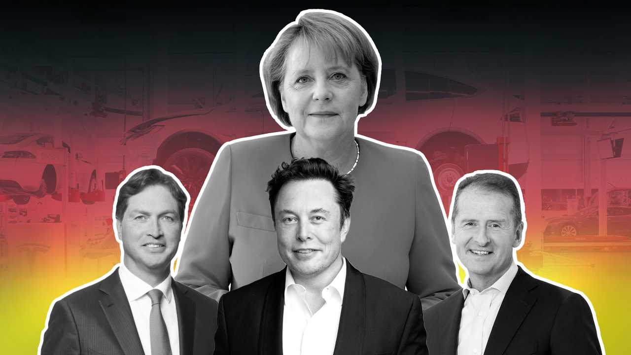 Tesla Germania Merkel