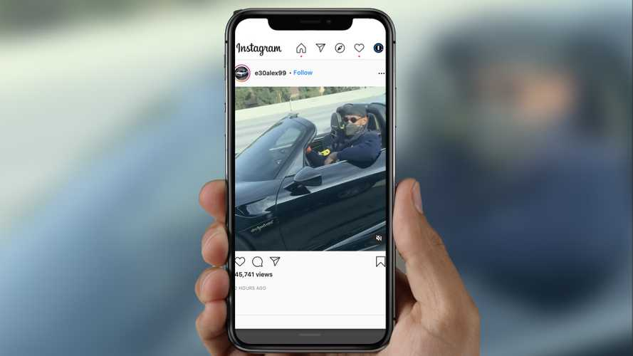LeBron James Tertangkap Kamera Ngebut dengan Porsche 918 Spyder