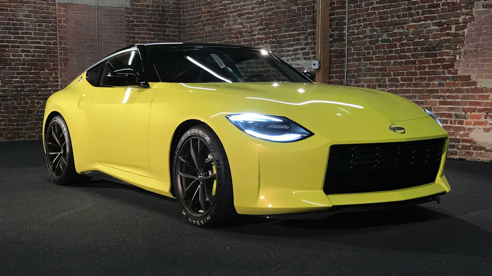 Nissan Z Proto In-Person First Look Front Quarter