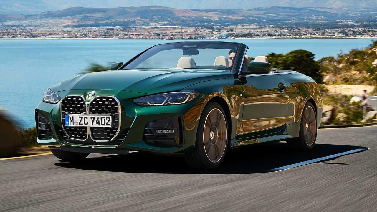 2021 BMW 4 Series Convertible Nose Sea