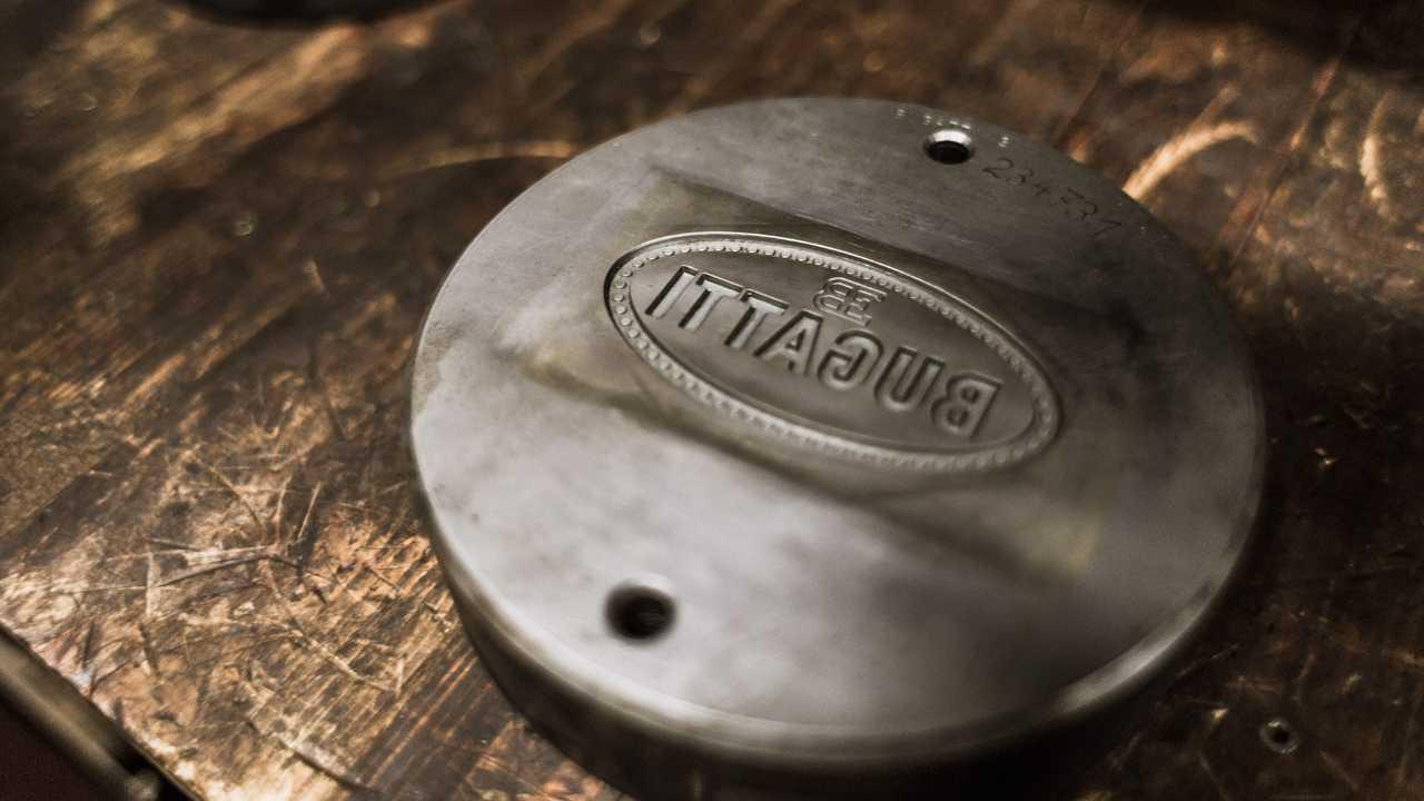 Bugatti Badge Manufacturing