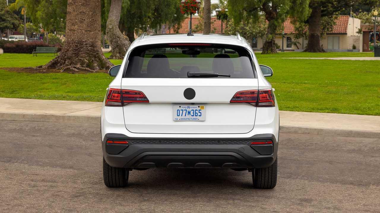 2022 Volkswagen Taos Prototype Rear End