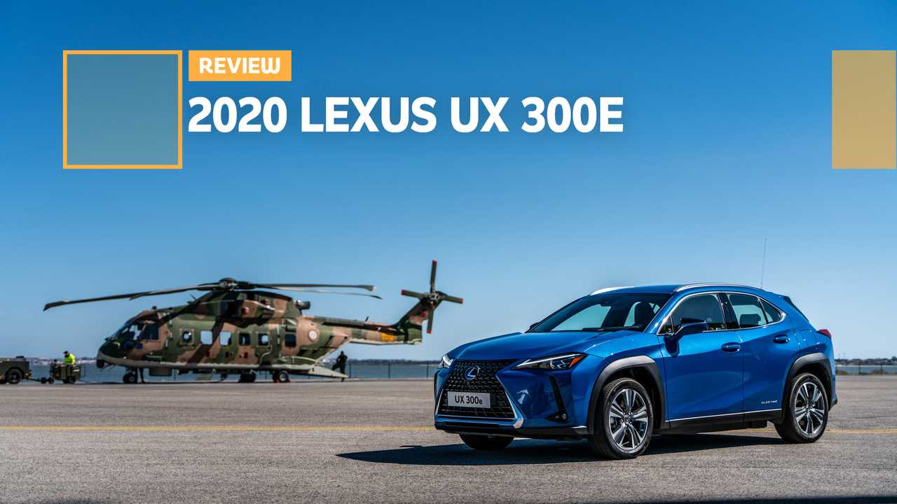 Lexus Seizes Toyota Efforts To Enter EV World With the UX 300e