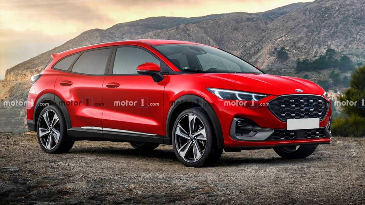 2022 Ford Fusion/Mondeo successor rendering