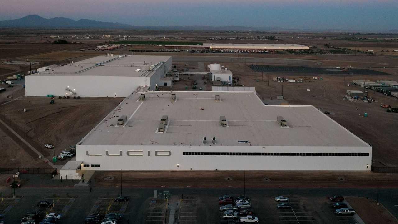 Lucid Motors plant in Casa Grande, Arizona