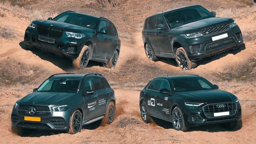 Can Luxury SUVs Really Go Off-Road? This Grueling Test Answers The Question