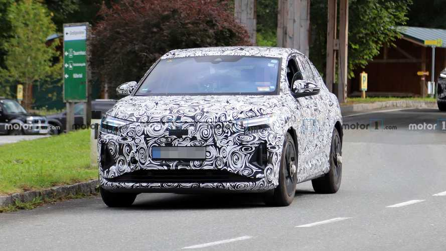 Audi Q4 E-Tron Sportback Spy Photos