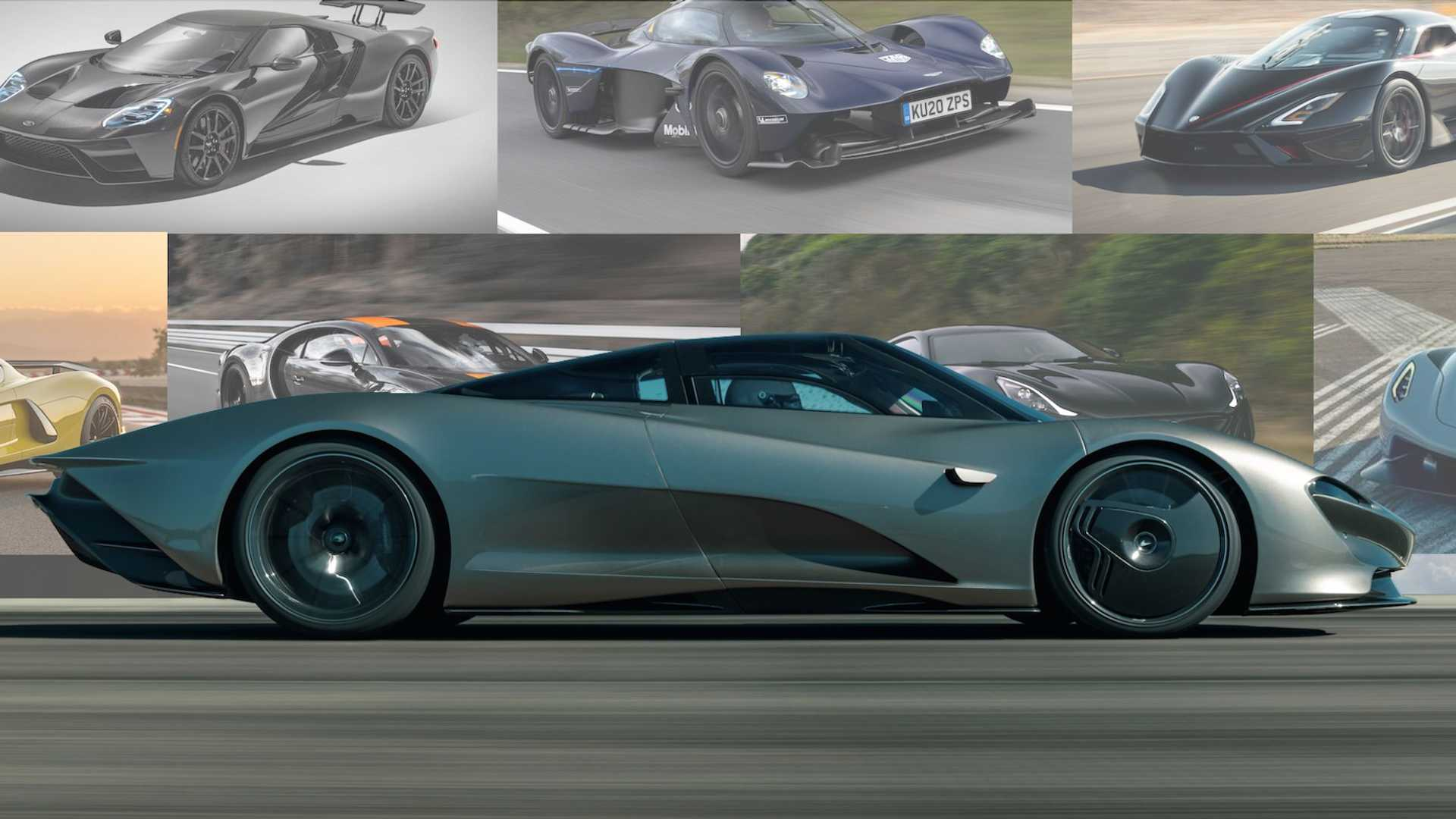 Fastest Cars In The World Best 0 60 And Top Mph Motor1 Com