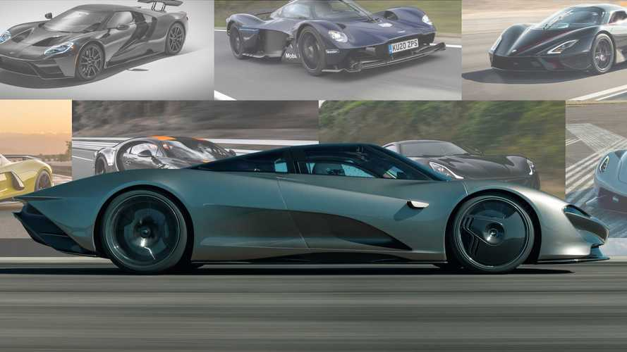 Fastest Cars In The World - Best 0-60 And Top MPH