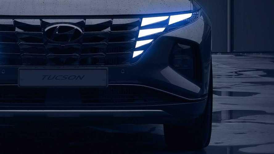 Hyundai показала 2 видео с новым кроссовером Tucson