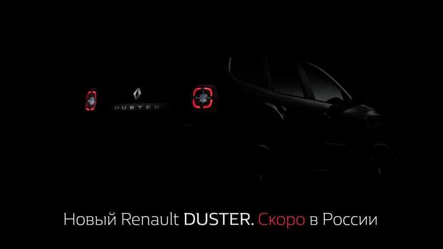 Renault показала первое фото нового Duster для России