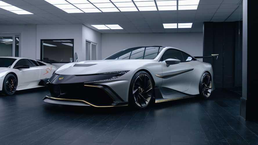 Dört kişilik Naran V8 Coupe, 1,077 bg güç çıkışı ile dikkat çekiyor