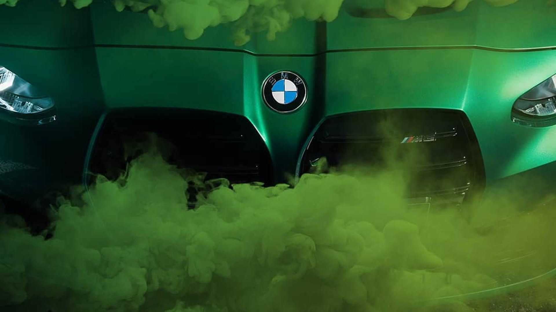 More Smoky Teasers Of The BMW M3 And M4 Have Surfaced - Motor1