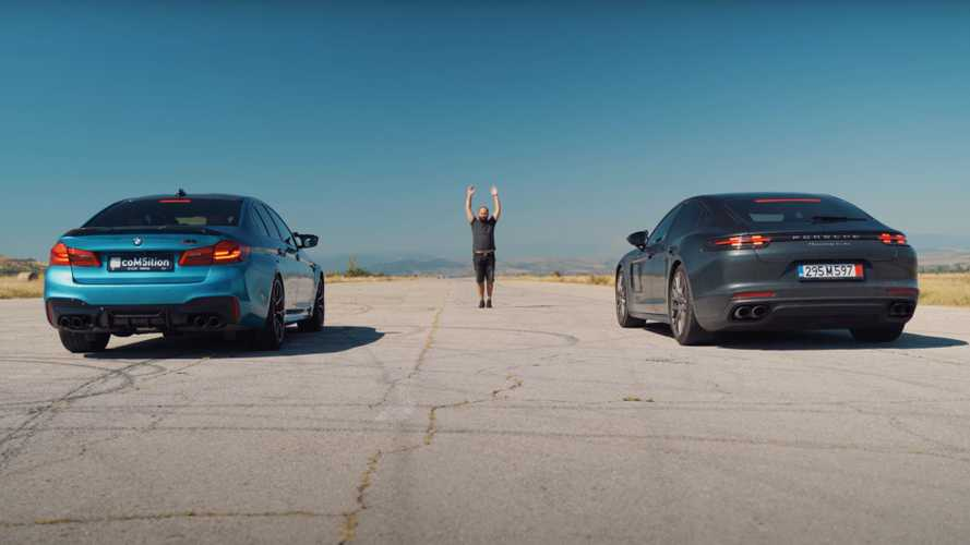Porsche Panamera vs bmw m5 competition