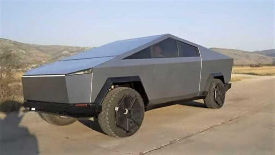 A melhor réplica do mundo do Tesla Cybertruck está na Bósnia