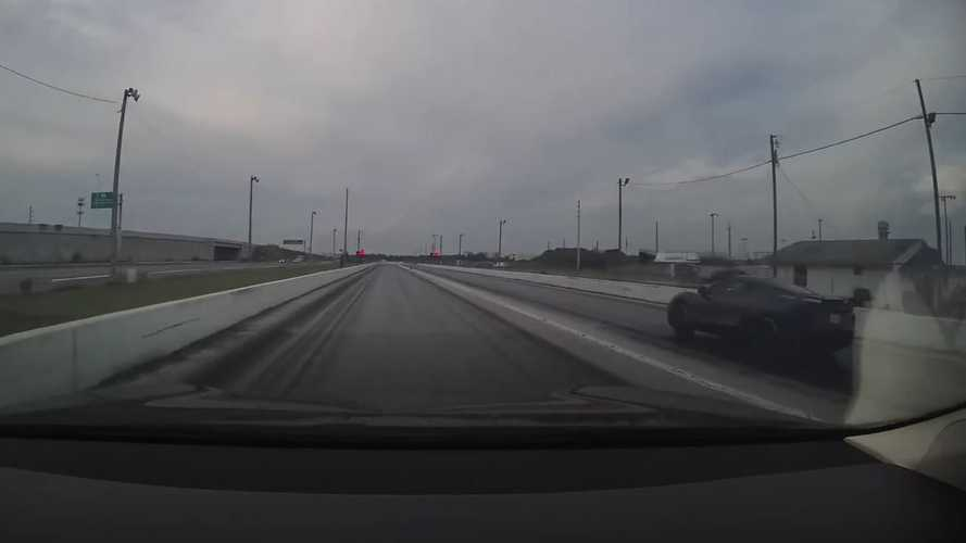 Watch Tesla Model S Raven Race Corvette C8 Multiple Times, Plus More