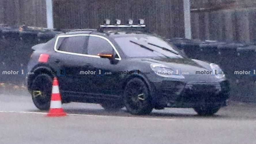 2022 Porsche Macan Electric Spied Getting Ready For War With Tesla Model Y