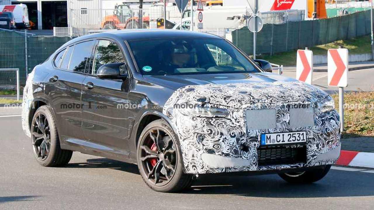 Makyajlı 2021 BMW X4 M Casus Fotoğrafları
