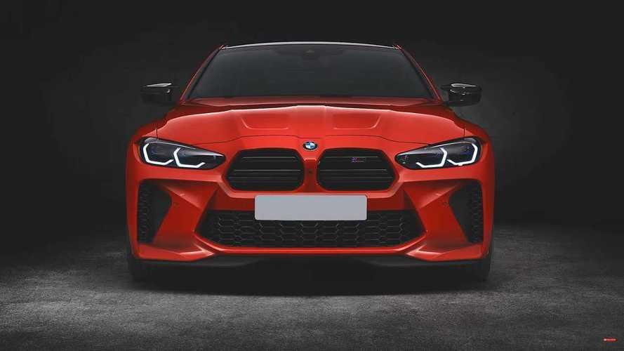 Nuova BMW M4, il super doppio rene si rimpicciolisce