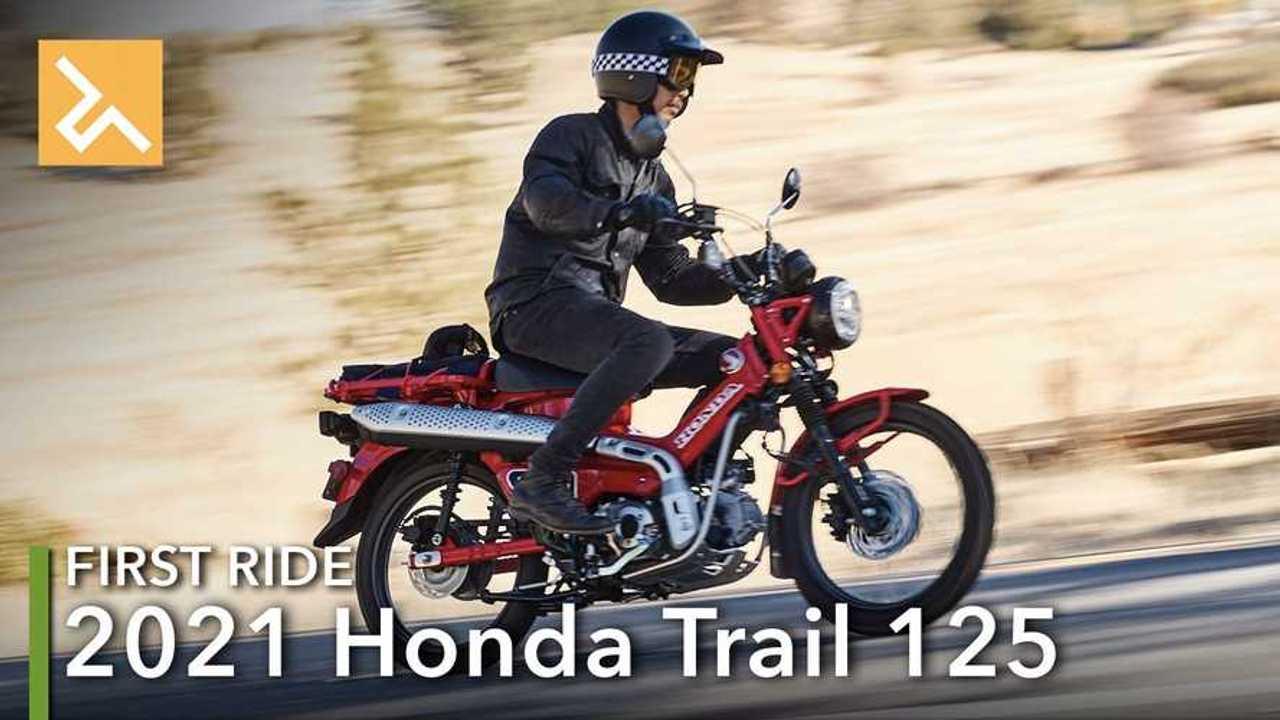 2021 Honda Trail 125 -Main